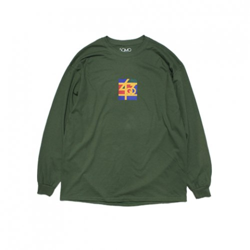 SAMO-3rd STREET PARTNER SHIP L/S T-SHIRT(OLIVE)<img class='new_mark_img2' src='//img.shop-pro.jp/img/new/icons5.gif' style='border:none;display:inline;margin:0px;padding:0px;width:auto;' />