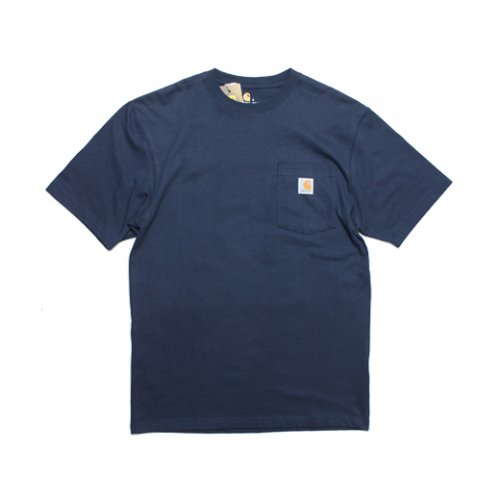 Carhartt-POCKET S/S T-SHIRT(NAVY)<img class='new_mark_img2' src='https://img.shop-pro.jp/img/new/icons5.gif' style='border:none;display:inline;margin:0px;padding:0px;width:auto;' />