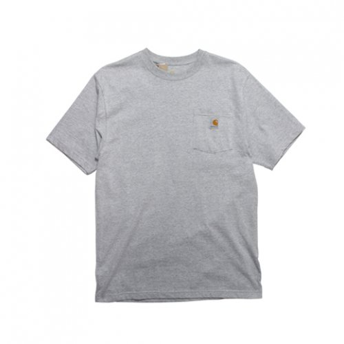 Carhartt-POCKET S/S T-SHIRT(GRAY)<img class='new_mark_img2' src='https://img.shop-pro.jp/img/new/icons5.gif' style='border:none;display:inline;margin:0px;padding:0px;width:auto;' />