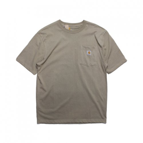 Carhartt-POCKET S/S T-SHIRT(DESESERT)<img class='new_mark_img2' src='https://img.shop-pro.jp/img/new/icons5.gif' style='border:none;display:inline;margin:0px;padding:0px;width:auto;' />