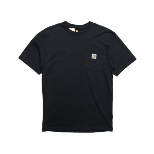 Carhartt-POCKET S/S T-SHIRT(BLACK)<img class='new_mark_img2' src='https://img.shop-pro.jp/img/new/icons5.gif' style='border:none;display:inline;margin:0px;padding:0px;width:auto;' />