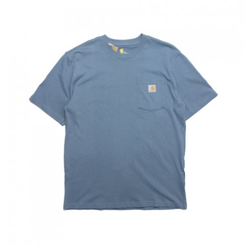 Carhartt-POCKET S/S T-SHIRT(STEEL BLUE)<img class='new_mark_img2' src='https://img.shop-pro.jp/img/new/icons5.gif' style='border:none;display:inline;margin:0px;padding:0px;width:auto;' />