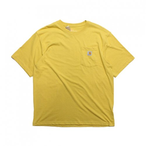 Carhartt-POCKET S/S T-SHIRT(YELLOW HEATHER)<img class='new_mark_img2' src='//img.shop-pro.jp/img/new/icons5.gif' style='border:none;display:inline;margin:0px;padding:0px;width:auto;' />