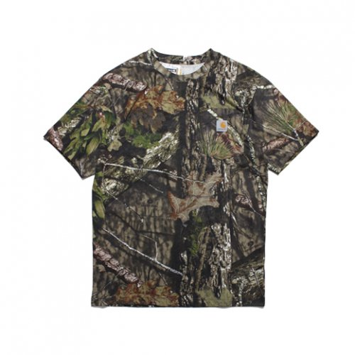 Carhartt-CAMO S/S T-SHIRT(MOSSY OAK CAMO)<img class='new_mark_img2' src='//img.shop-pro.jp/img/new/icons5.gif' style='border:none;display:inline;margin:0px;padding:0px;width:auto;' />