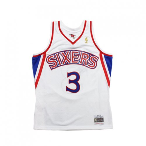 Mitchell&Ness -NBA SWINGMAN JERSEY 76SERS #3 IVERSON (WHITE)<img class='new_mark_img2' src='//img.shop-pro.jp/img/new/icons5.gif' style='border:none;display:inline;margin:0px;padding:0px;width:auto;' />