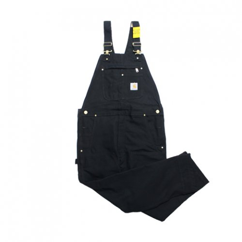 Carhartt-DUCK BIB OVERALL(BLACK)<img class='new_mark_img2' src='https://img.shop-pro.jp/img/new/icons5.gif' style='border:none;display:inline;margin:0px;padding:0px;width:auto;' />