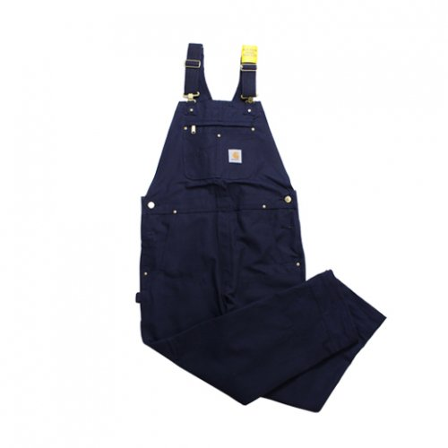 Carhartt-DUCK BIB OVERALL(NAVY)<img class='new_mark_img2' src='https://img.shop-pro.jp/img/new/icons5.gif' style='border:none;display:inline;margin:0px;padding:0px;width:auto;' />