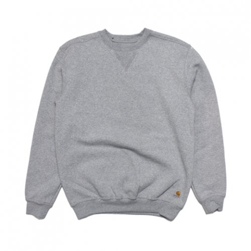 Carhartt-MIDWEIGHT CREW NECK(H.GRAY)<img class='new_mark_img2' src='//img.shop-pro.jp/img/new/icons5.gif' style='border:none;display:inline;margin:0px;padding:0px;width:auto;' />