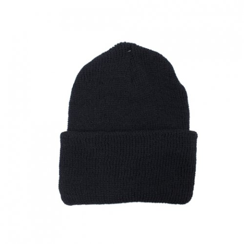 ROTHCO-100% WOOL WATCH CAP(BLACK)<img class='new_mark_img2' src='https://img.shop-pro.jp/img/new/icons5.gif' style='border:none;display:inline;margin:0px;padding:0px;width:auto;' />