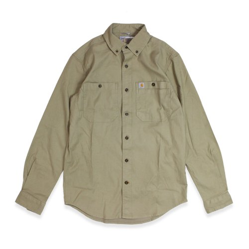 Carhartt-RUGGED FLEXED RIGBY L/S WORK SHIRT(KHAKI)<img class='new_mark_img2' src='//img.shop-pro.jp/img/new/icons5.gif' style='border:none;display:inline;margin:0px;padding:0px;width:auto;' />