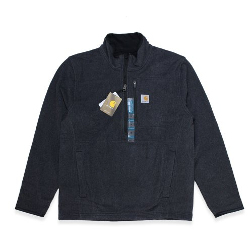 Carhartt-DALTON HARF-ZIP FLEECE(BLACK HEATHER)<img class='new_mark_img2' src='//img.shop-pro.jp/img/new/icons5.gif' style='border:none;display:inline;margin:0px;padding:0px;width:auto;' />