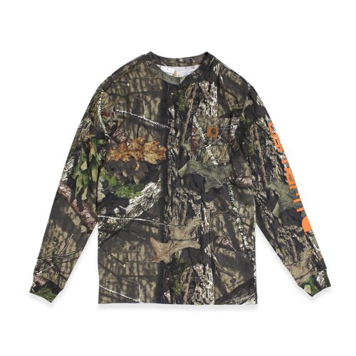 Carhartt-WORK WEAR GRAPHIC CAMO L/S T-SHIRT(MOSSY OAK CAMO)<img class='new_mark_img2' src='//img.shop-pro.jp/img/new/icons5.gif' style='border:none;display:inline;margin:0px;padding:0px;width:auto;' />