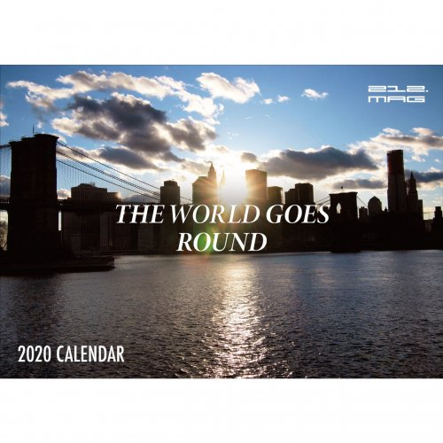 212.MAG -THE WORLD GOES ROUND 2020 CALENDAR<img class='new_mark_img2' src='//img.shop-pro.jp/img/new/icons5.gif' style='border:none;display:inline;margin:0px;padding:0px;width:auto;' />