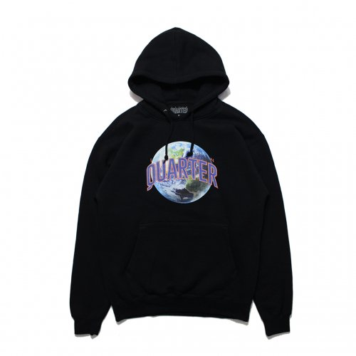 LATIN QUARTER-EARTH HEAVYWEIGHT HOODIE(BLACK)<img class='new_mark_img2' src='//img.shop-pro.jp/img/new/icons5.gif' style='border:none;display:inline;margin:0px;padding:0px;width:auto;' />