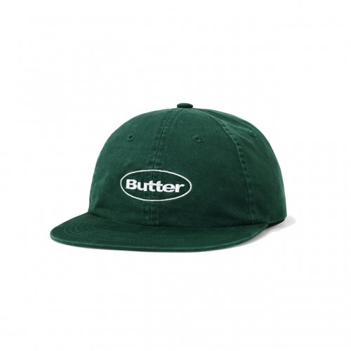BUTTER GOODS-WASHED BADGE 6PANEL CAP(FOREST)<img class='new_mark_img2' src='//img.shop-pro.jp/img/new/icons5.gif' style='border:none;display:inline;margin:0px;padding:0px;width:auto;' />