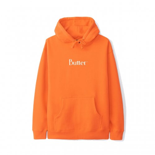 BUTTER GOODS-CLASSIC LOGO HOODIE(ORENGE)<img class='new_mark_img2' src='//img.shop-pro.jp/img/new/icons5.gif' style='border:none;display:inline;margin:0px;padding:0px;width:auto;' />