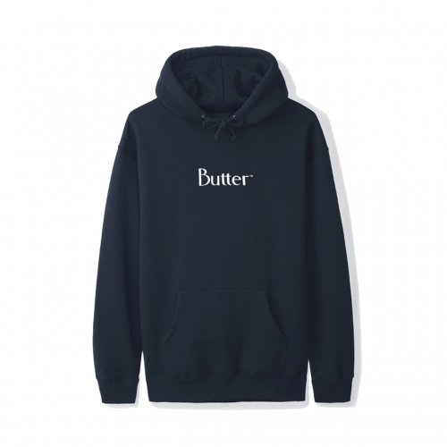 BUTTER GOODS-CLASSIC LOGO HOODIE(NAVY)<img class='new_mark_img2' src='https://img.shop-pro.jp/img/new/icons5.gif' style='border:none;display:inline;margin:0px;padding:0px;width:auto;' />