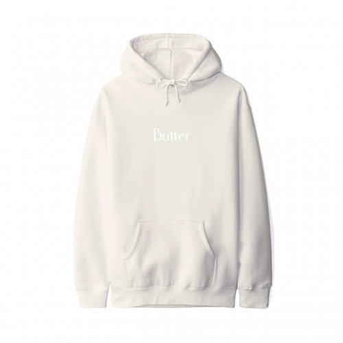 BUTTER GOODS-CLASSIC LOGO HOODIE(BONE)<img class='new_mark_img2' src='https://img.shop-pro.jp/img/new/icons5.gif' style='border:none;display:inline;margin:0px;padding:0px;width:auto;' />