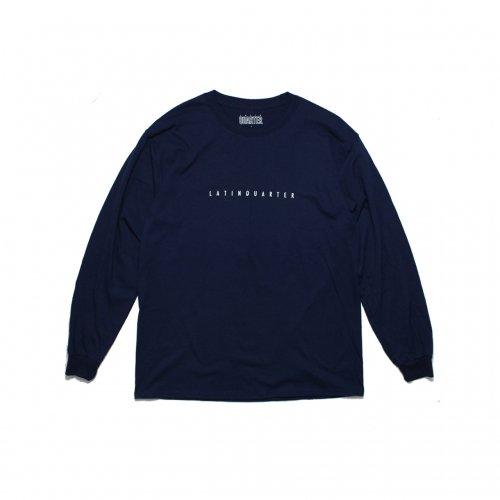 LATIN QUARTER-WAI L/S T-SHIRT(NAVY)<img class='new_mark_img2' src='//img.shop-pro.jp/img/new/icons5.gif' style='border:none;display:inline;margin:0px;padding:0px;width:auto;' />