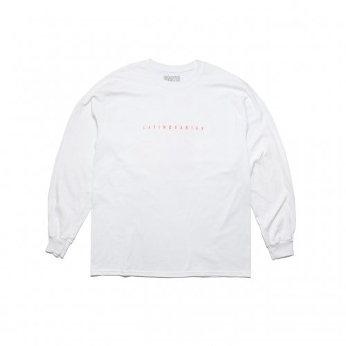 LATIN QUARTER-WAI L/S T-SHIRT(WHITE)<img class='new_mark_img2' src='//img.shop-pro.jp/img/new/icons5.gif' style='border:none;display:inline;margin:0px;padding:0px;width:auto;' />