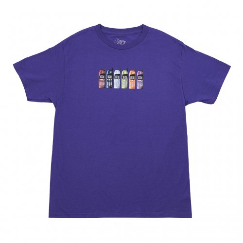 BRONZE-PHONES S/S TEE(PURPLE)<img class='new_mark_img2' src='https://img.shop-pro.jp/img/new/icons5.gif' style='border:none;display:inline;margin:0px;padding:0px;width:auto;' />