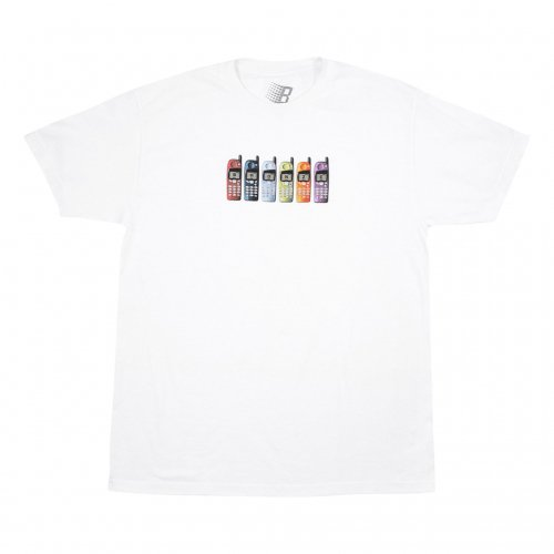 BRONZE-PHONES S/S TEE(WHITE)<img class='new_mark_img2' src='https://img.shop-pro.jp/img/new/icons5.gif' style='border:none;display:inline;margin:0px;padding:0px;width:auto;' />