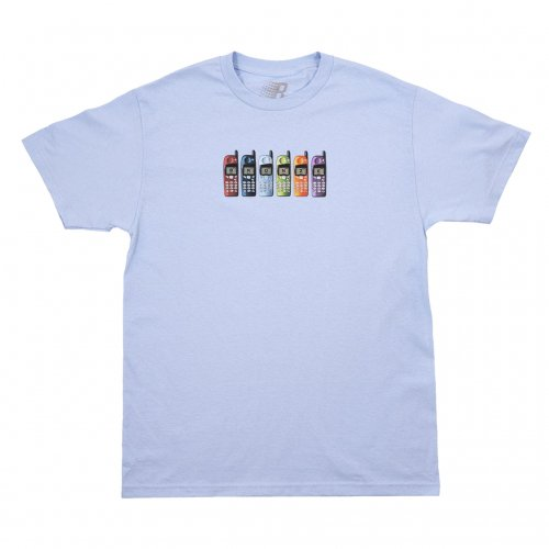 BRONZE-PHONES S/S TEE(POWDER BLUE)<img class='new_mark_img2' src='https://img.shop-pro.jp/img/new/icons5.gif' style='border:none;display:inline;margin:0px;padding:0px;width:auto;' />