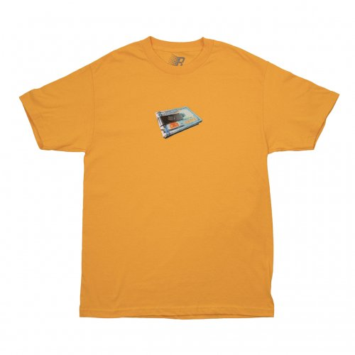BRONZE-MONEY CLIP S/S TEE(GOLD)<img class='new_mark_img2' src='//img.shop-pro.jp/img/new/icons5.gif' style='border:none;display:inline;margin:0px;padding:0px;width:auto;' />