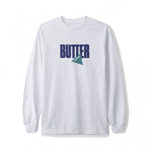 BUTTER GOODS-GEAR L/S T-SHIRT(HEATHER GRAY)<img class='new_mark_img2' src='//img.shop-pro.jp/img/new/icons5.gif' style='border:none;display:inline;margin:0px;padding:0px;width:auto;' />
