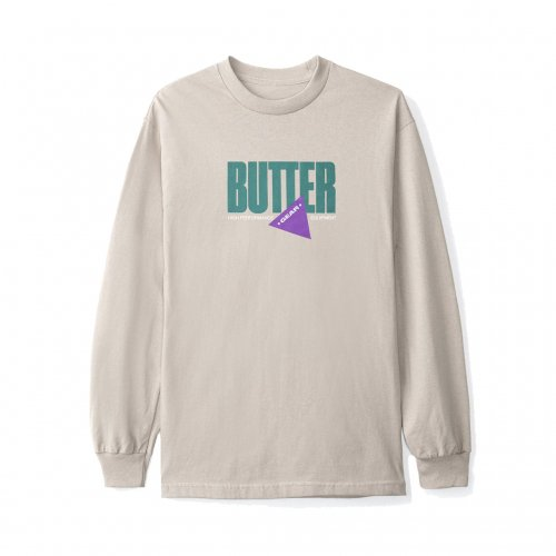 BUTTER GOODS-GEAR L/S T-SHIRT(SAND)<img class='new_mark_img2' src='//img.shop-pro.jp/img/new/icons5.gif' style='border:none;display:inline;margin:0px;padding:0px;width:auto;' />