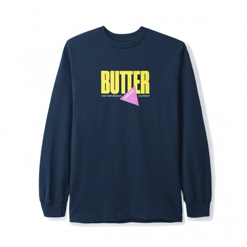 BUTTER GOODS-GEAR L/S T-SHIRT(NAVY)<img class='new_mark_img2' src='https://img.shop-pro.jp/img/new/icons5.gif' style='border:none;display:inline;margin:0px;padding:0px;width:auto;' />