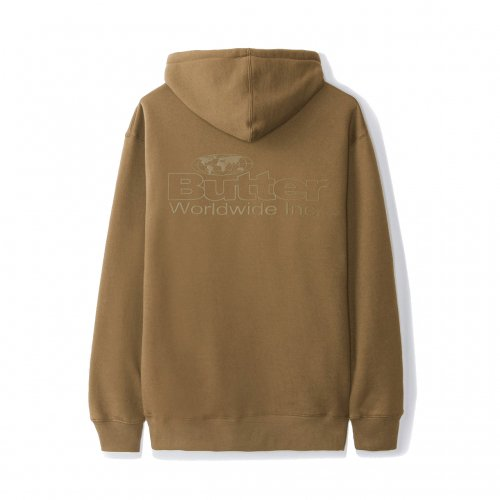 BUTTER GOODS-INCORPORATED HOODIE(SADDLE)<img class='new_mark_img2' src='//img.shop-pro.jp/img/new/icons5.gif' style='border:none;display:inline;margin:0px;padding:0px;width:auto;' />