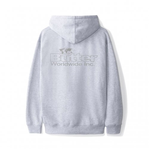 <SALE>BUTTER GOODS-INCORPORATED HOODIE(HEATHER GRAY)<img class='new_mark_img2' src='//img.shop-pro.jp/img/new/icons20.gif' style='border:none;display:inline;margin:0px;padding:0px;width:auto;' />