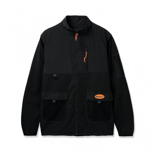 <SALE>BUTTER GOODS-FIELD COVERTABLE JKT(BLACK)<img class='new_mark_img2' src='https://img.shop-pro.jp/img/new/icons20.gif' style='border:none;display:inline;margin:0px;padding:0px;width:auto;' />