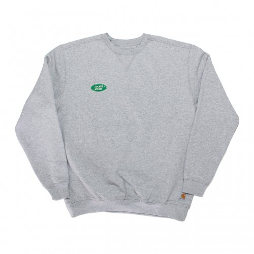 LOCKER ROOM-CREW NECK SWEAT SHIRT/carhartt(GRAY)<img class='new_mark_img2' src='https://img.shop-pro.jp/img/new/icons5.gif' style='border:none;display:inline;margin:0px;padding:0px;width:auto;' />