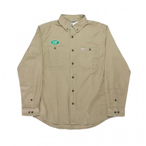 LOCKER ROOM-L/S SHIRT(KHAKI)<img class='new_mark_img2' src='//img.shop-pro.jp/img/new/icons5.gif' style='border:none;display:inline;margin:0px;padding:0px;width:auto;' />