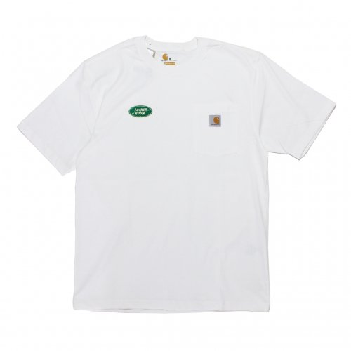 LOCKER ROOM-POCKET S/S T-SHIRT(carhartt/WHITE)<img class='new_mark_img2' src='https://img.shop-pro.jp/img/new/icons5.gif' style='border:none;display:inline;margin:0px;padding:0px;width:auto;' />