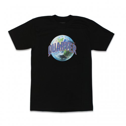 LATIN QUARTER-EARTH S/S T-SHIRT(BLACK)<img class='new_mark_img2' src='https://img.shop-pro.jp/img/new/icons5.gif' style='border:none;display:inline;margin:0px;padding:0px;width:auto;' />