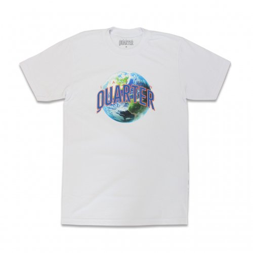 LATIN QUARTER-EARTH S/S T-SHIRT(WHITE)<img class='new_mark_img2' src='https://img.shop-pro.jp/img/new/icons5.gif' style='border:none;display:inline;margin:0px;padding:0px;width:auto;' />