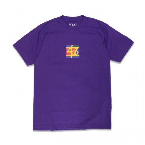 SAMO-3rd STREET PARTNER SHIP S/S T-SHIRT(PURPLE)<img class='new_mark_img2' src='//img.shop-pro.jp/img/new/icons5.gif' style='border:none;display:inline;margin:0px;padding:0px;width:auto;' />