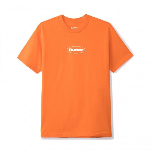 【20%OFF】BUTTER GOODS-Puff Badge Logo T-SHIRT(ORENGE)<img class='new_mark_img2' src='https://img.shop-pro.jp/img/new/icons20.gif' style='border:none;display:inline;margin:0px;padding:0px;width:auto;' />