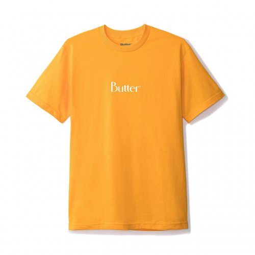BUTTER GOODS-Classic Logo T-SHIRT(GOLD)<img class='new_mark_img2' src='//img.shop-pro.jp/img/new/icons5.gif' style='border:none;display:inline;margin:0px;padding:0px;width:auto;' />