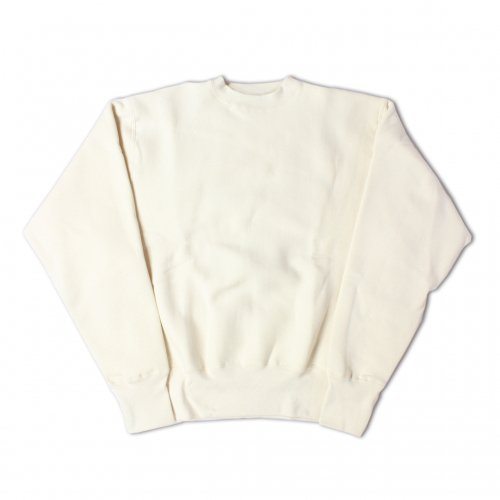 CAMBER-CROSS KNIT CREW NECK SWEAT(NATURAL)<img class='new_mark_img2' src='https://img.shop-pro.jp/img/new/icons5.gif' style='border:none;display:inline;margin:0px;padding:0px;width:auto;' />