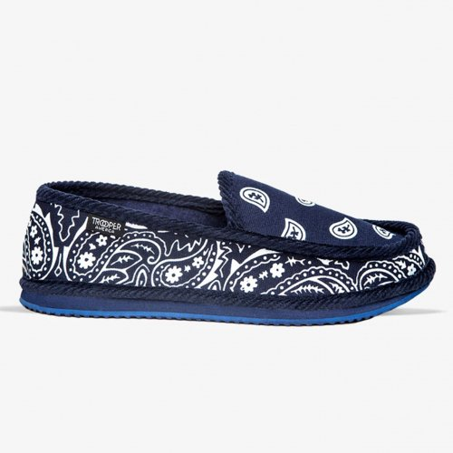 TROOPER-CLASSIC HOUSE SHOES(NAVY)<img class='new_mark_img2' src='https://img.shop-pro.jp/img/new/icons5.gif' style='border:none;display:inline;margin:0px;padding:0px;width:auto;' />