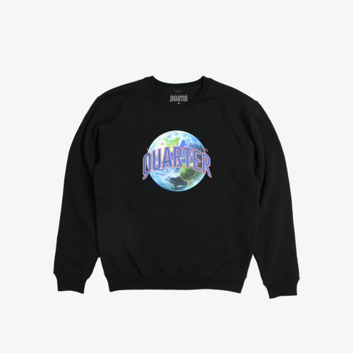 LATIN QUARTER-CREW NECK SWEAT(BLACK)<img class='new_mark_img2' src='https://img.shop-pro.jp/img/new/icons5.gif' style='border:none;display:inline;margin:0px;padding:0px;width:auto;' />