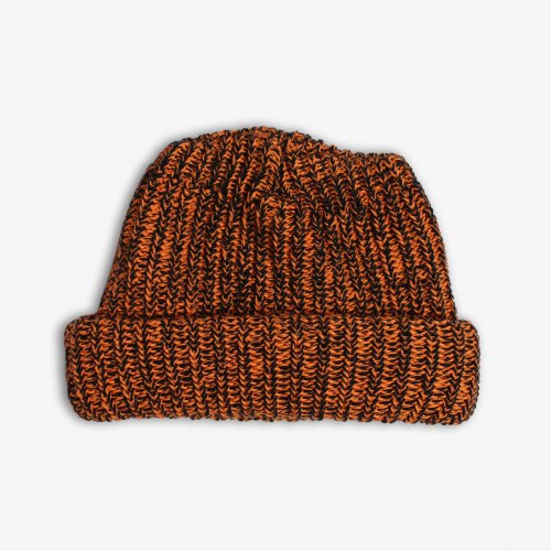 COLUMBIA KNIT-MARL BULKY CAP(ORENGE BLACK)<img class='new_mark_img2' src='https://img.shop-pro.jp/img/new/icons5.gif' style='border:none;display:inline;margin:0px;padding:0px;width:auto;' />