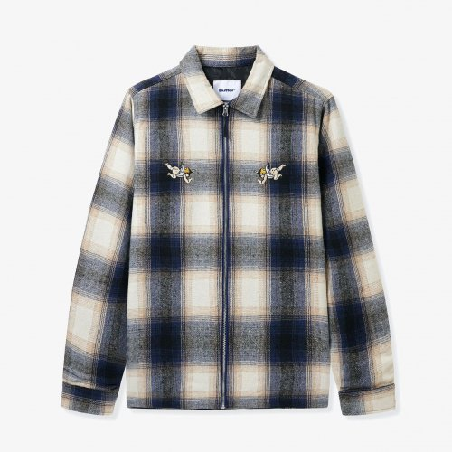 BUTTER GOODS-Angels Heavyweight Plaid Overshirt(NAVY/BEIGE)<img class='new_mark_img2' src='https://img.shop-pro.jp/img/new/icons5.gif' style='border:none;display:inline;margin:0px;padding:0px;width:auto;' />