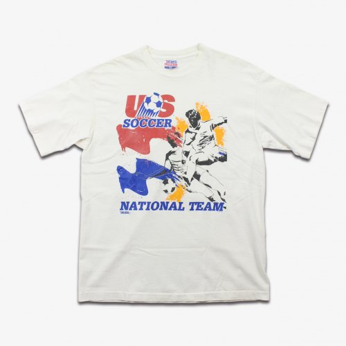 【50%OFF】VINTAGE USED USA SOCCER S/S T-SHIRT(WHITE)<img class='new_mark_img2' src='https://img.shop-pro.jp/img/new/icons20.gif' style='border:none;display:inline;margin:0px;padding:0px;width:auto;' />