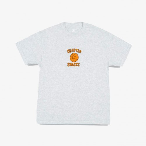 QUARTER SNACKS-BALL IS LIFE S/S T-SHIRT(ASH GRAY)<img class='new_mark_img2' src='https://img.shop-pro.jp/img/new/icons5.gif' style='border:none;display:inline;margin:0px;padding:0px;width:auto;' />