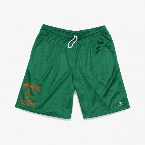 QUARTER SNACKS-BALL IS LIFE MESH SHORTS (GREEN)<img class='new_mark_img2' src='https://img.shop-pro.jp/img/new/icons5.gif' style='border:none;display:inline;margin:0px;padding:0px;width:auto;' />
